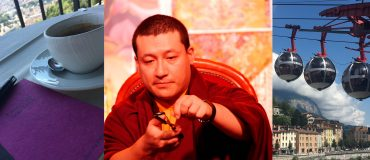 Karmapa in Grenoble